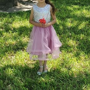 Blush by us Angel's beautiful dress